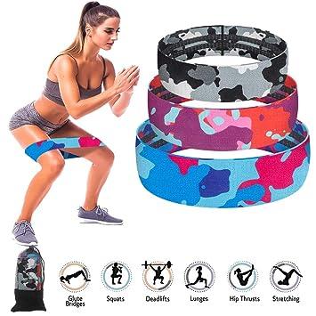 Hip Exercice Boucle Bandes de résistance pour entraînement jambes /& Butt Squat cuisses GLUTE Bo