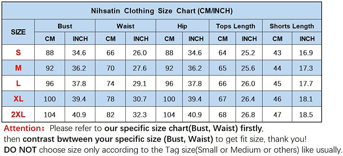 Nihsatin Womens 2 Piece Tracksuit Tie Dye Short Sleeve T-Shirt Bodycon Shorts Set Outfits