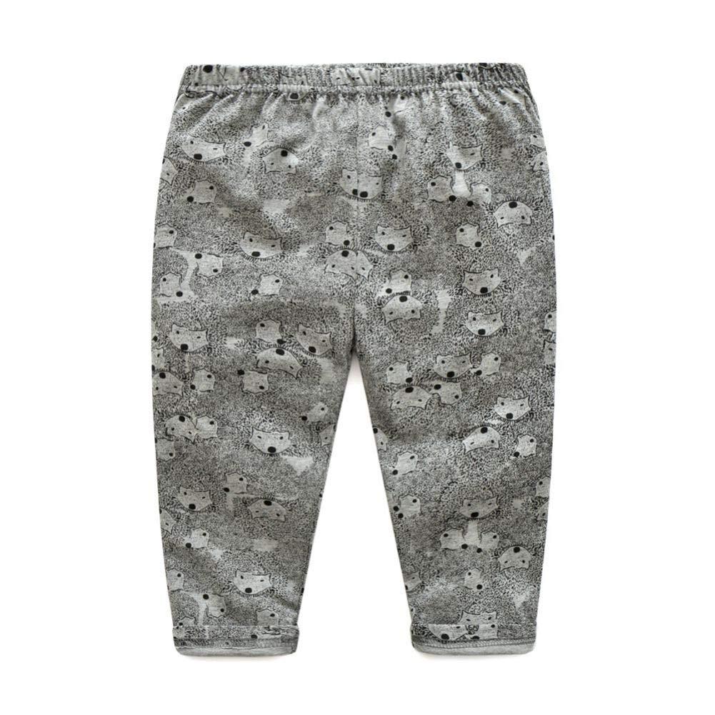 URMAGIC Baby Boys Girls Clothing Sets Infant Kids Pajamas Sets Cartoon Bear Panda Long Sleeve Pajamas Tops Casual Pants Autumn Pajamas