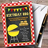 Country Bbq Childrens Birthday Party Invitations