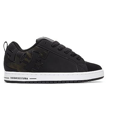 1e4ff4eddd4 DC Shoes Court Graffik Se - Baskets - Homme - EU 39 - Noir
