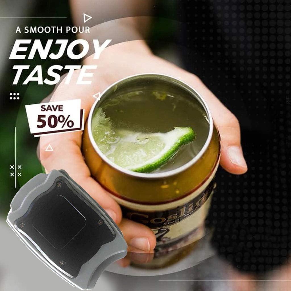Aemiy Go Swing Apriscatole universale Topless apriscatole manuale apribottiglie apribottiglie rimuovi tappi per bottiglie