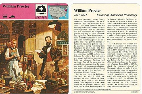 1979 Panarizon  Story Of America  90 06 William Procter  Pharmacy