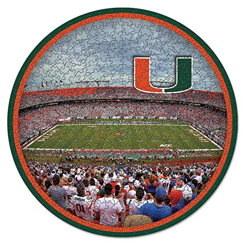 (NCAA Miami Hurricanes Stadium Puzzle 500-Piece )