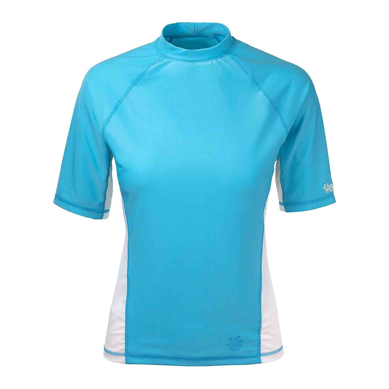 UV Skinz UPF 50+ Womens Short Sleeve Active Sun & Swim Shirt