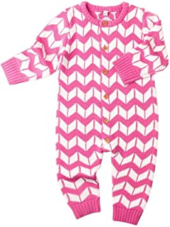 Gyratedream Baby Knitted Romper Girls Boys Christmas Sweater Knitwear Jumpsuit Playsuit Autumn Winter Clothes for 0-24 Months Infants