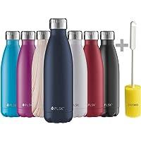 FLSK Trinkflasche Thermosflasche Isolierflasche Thermoskanne + Prymo.de® Flaschenbürste