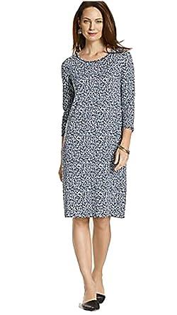 J Jill Women's Plus Size Long Sleeve Dress 3X Multicolor at Amazon ...