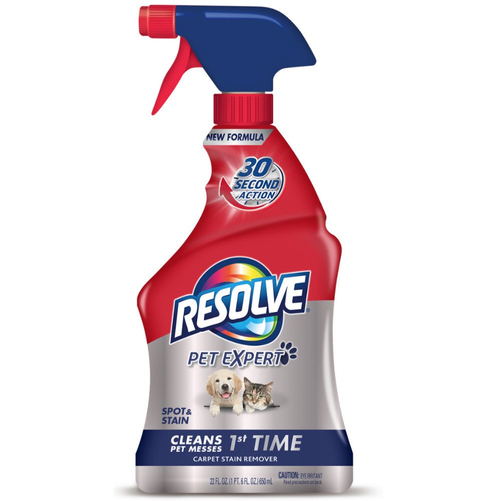 Resolve Pet Stain Remover Carpet Cleaner, 22 oz (Pack of 3)