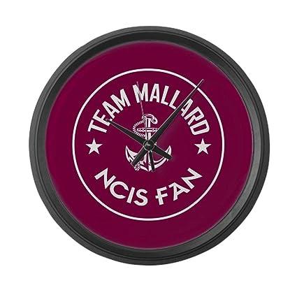 e5f25a228e5 Amazon.com  YiiHaanBuy Team Mallard - Large 12in Round Wall Clock ...