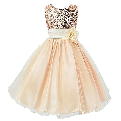 Ma Vestido De Princesa Para Niña De Boda Noche Fiesta