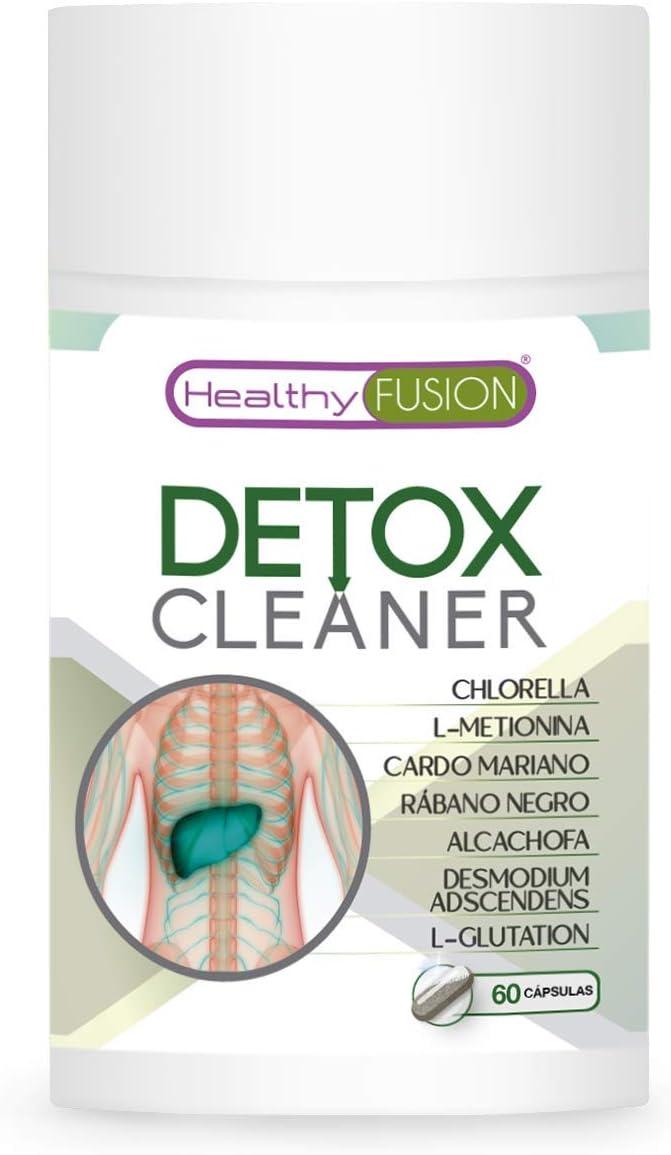 Detox drenante y depurativo | Elimina toxinas del organismo | Cardo mariano + rábano negro + alcachofa | Estimula la función digestiva eliminando la pesadez | Controla el colesterol | 60 cápsulas