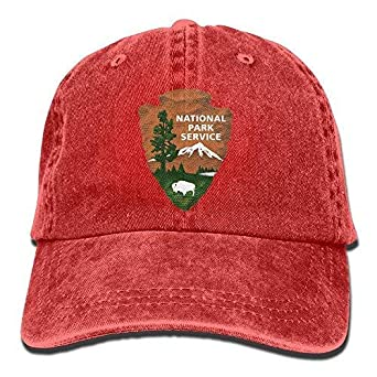 DAIAII Hombre Mujer Gorras de béisbol, National Park Services ...