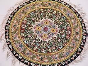 Alfombra redonda para pared para colgar decorativo para alfombras gauba Ethnic estuches de diseño de 24in