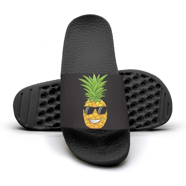 TAKLOOL Hawaiian Pineapple Sunglasses Water Resistance lightweighted Men Slide Sandal