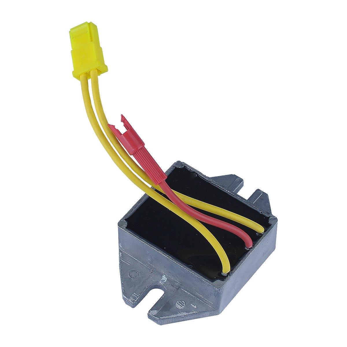 HIPA Electrical Voltage Regulator 845907 394890 797375 393374 691185 for Briggs & Stratton 192400 196400 226400 280700 351700 28M700 Engine