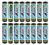 (16-Pack) HyperPS 3.2V LiFePo4 14500 AA 600mAh Rechargeable Battery for Solar Panel Light, Tooth Brush, Shaver, Flashlight