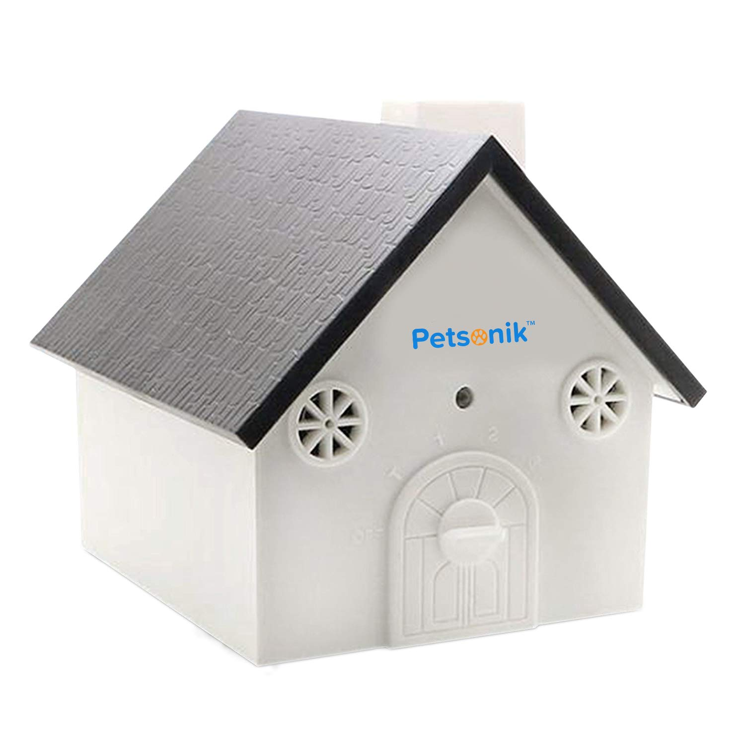 Petsonik Ultrasonic Dog Barking Control Devices in Birdhouse Shape Instantly Regain Your Peace of Mind, Includes Free E-Book on Tips | Outdoor Bark Box - No Harm to Dog | Upgraded Bark House by Petsonik