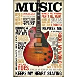 "Trends International Music Inspires Me 22.375"" x 34"" Wall Poster"