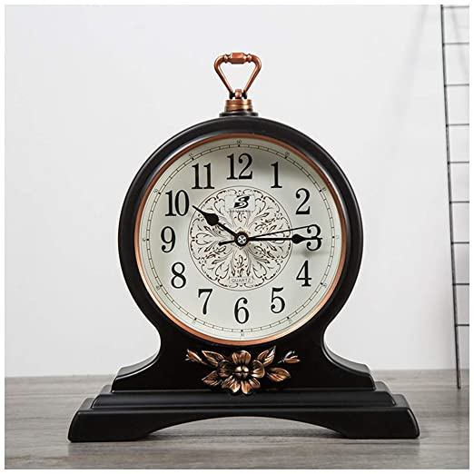 SMC Reloj de escritorio Personalidad Europea Reloj de Mesa ...