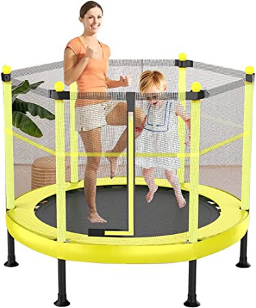 Kinder Sport Unterhaltung Trampolin Indoor Outdoor Garten inkl Sicherheitsnetz