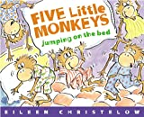 Five Little Monkeys Jumping on the Bed, Eileen Christelow, 0833567616