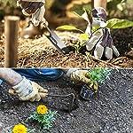 MOSFiATA Garden tools set 12 pcs Hand Kit Gardening Tools Set made of High-Carbon Steel with Shovels, Scissors,Sprayer…