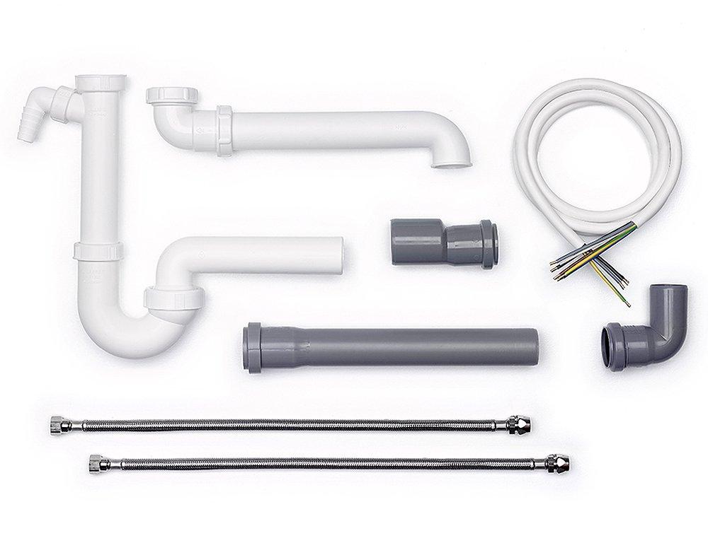 Spülenanschluss Montage-Set-1 / Ablaufgarnitur / Ablaufverbindung ...