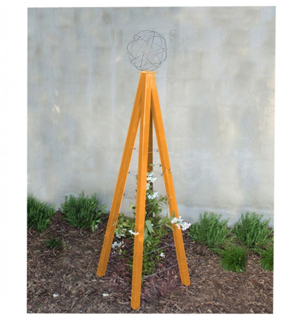 Terra Trellis - Akoris Garden Tuteur Jr. (Kumquat Orange)