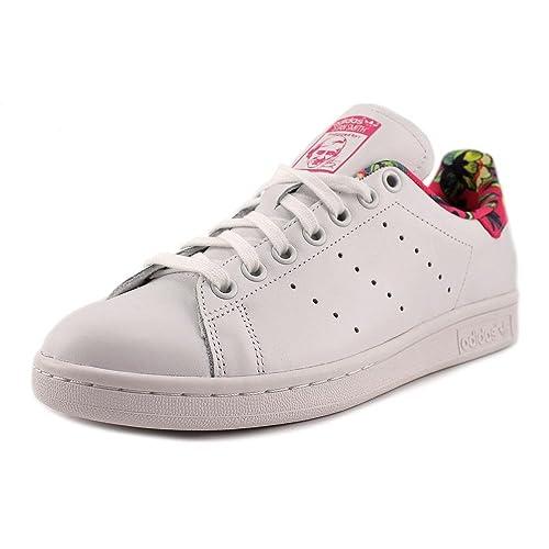 best service ca957 41278 adidas adidasADS75564 Stan Smith, Bianco Rosa, da Donna, S75564 Donna,  Bianco (White Pink), 28 M EU  Amazon.it  Scarpe e borse
