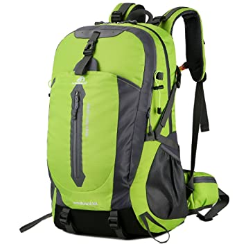 f4bbf81751 Lixada 50L Water Resistant Hiking Travel Backpack Laptop Daypack with Rain  Cover Outdoor Camping Trekking Climbing Backpack for Men Women   Amazon.co.uk  ...