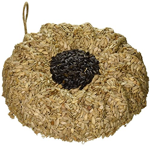 (Pine Tree Farms 1363 Sunflower Shaped Seed Wreath, 3 Pounds )