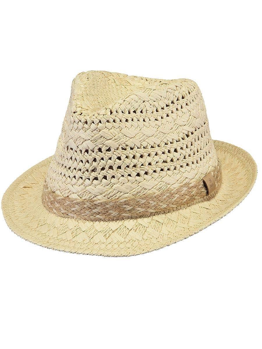 Chapeau de Soleil Homme Femme Et/é Anti UV Chapeau de Voyage Pliable Large Bord Visi/ère Plage