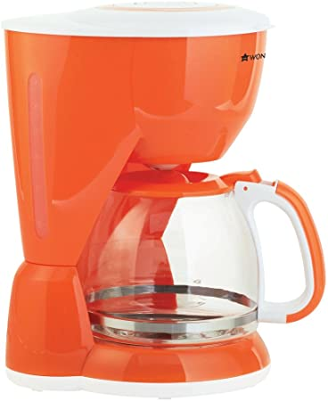 Wonderchef Regalia 1.4-Litre Coffee Maker (Orange) Coffee, Tea & Espresso at amazon