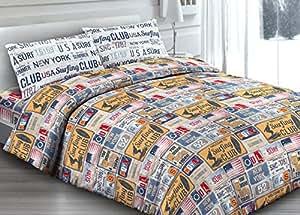 Capitan Casa copritrapunta de 100% algodón Dibujo Vintage