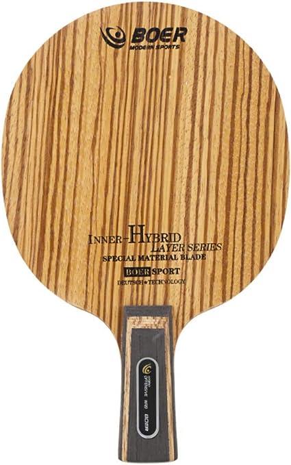 Etopfashion Tenis de Mesa Simple Blade Ligero Durable Ping Pong ...