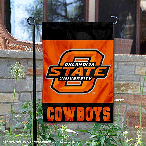 College Flags and Banners Co. Oklahoma State Cowboys Garden Flag