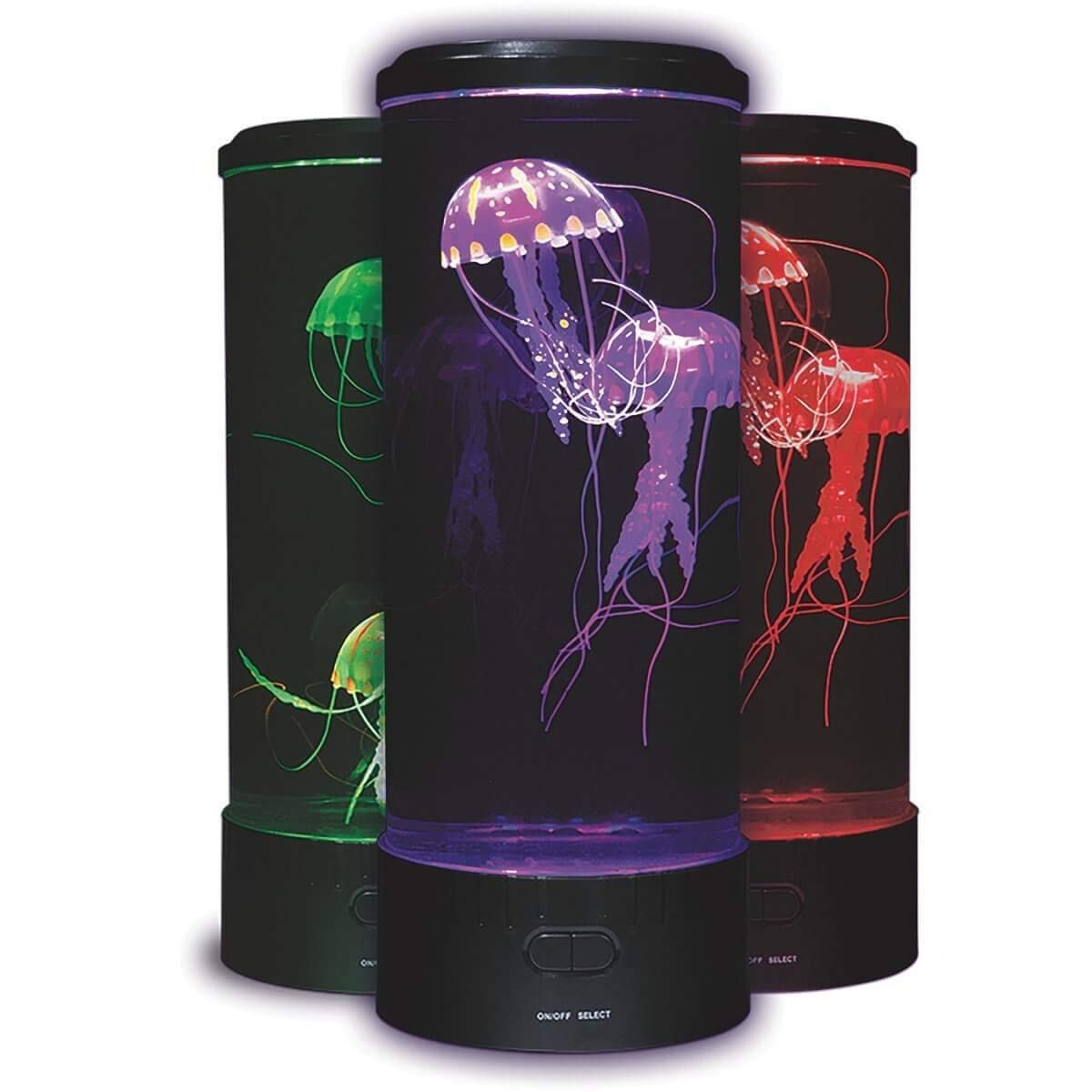 Fascinations FASJELLYE Electric Jellyfish Mood Light (New Round Design)