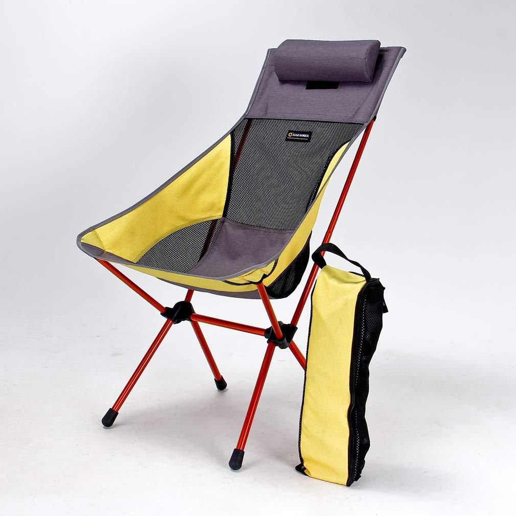 DUBAOBAO Chaise De Camping Pliante Ultralight Chaise De Camping En Aluminium 7075 De Qualité Aéronautique Portable Convient Pour Un Usage Domestique Et Les Activités De Plein Air