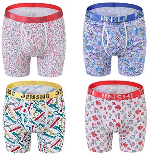 "FREE UK POST Red 34/"" 32/"" Underwear Mens Thai Silk Loose Boxer Shorts"