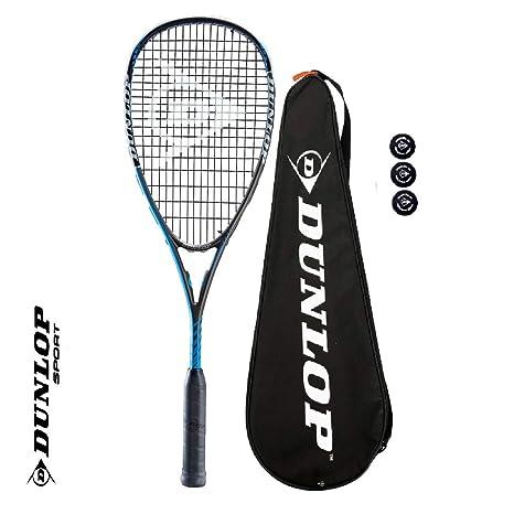 Dunlop Blackstorm Power 3.0 - Raqueta de Squash (Grafito, Incluye ...