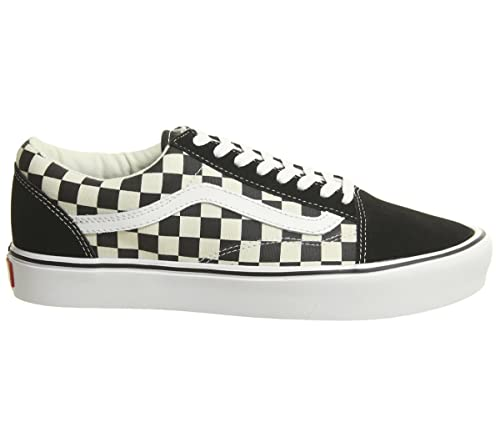 Vans BlackWhite Checkerboard Old Skool Lite Trainers