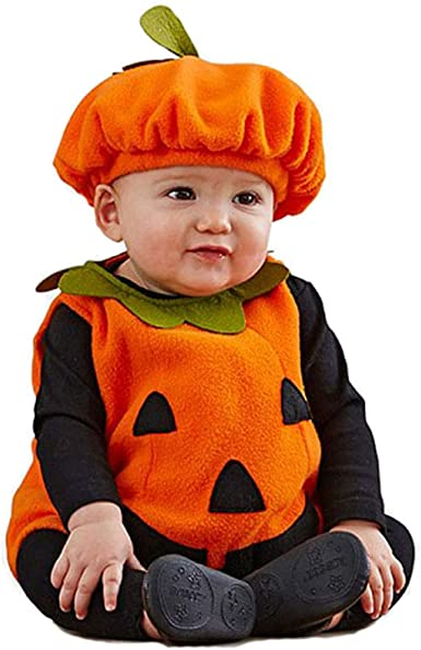 mama stadt Disfraz Calabaza Bebe Halloween, Unisex Niños ...