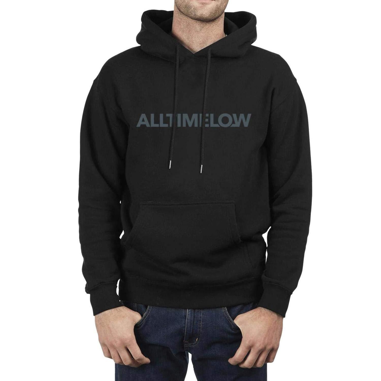 Sweatshirt Winter Fleece Casual Pullover Hoodie Iushfss Black Hoodie for Men All-Time-Low