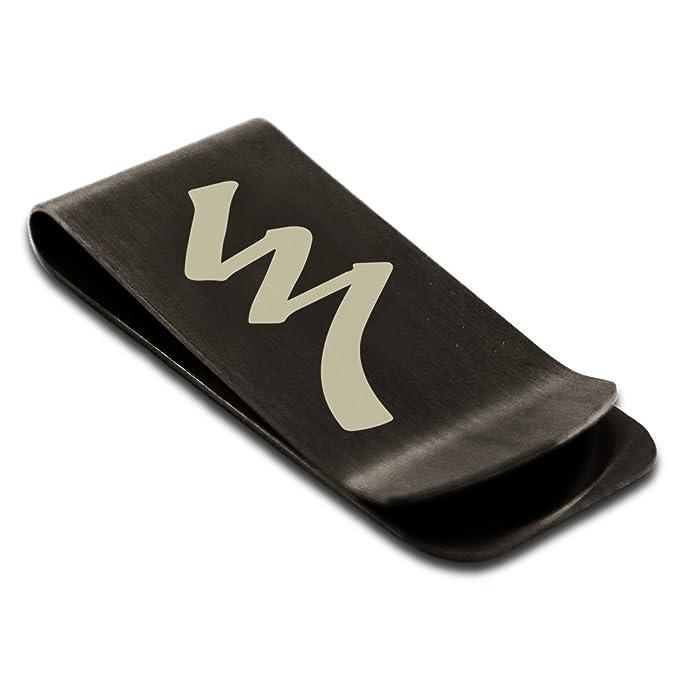 Matte Black Stainless Steel Reiki Raku Completion Symbol Engraved