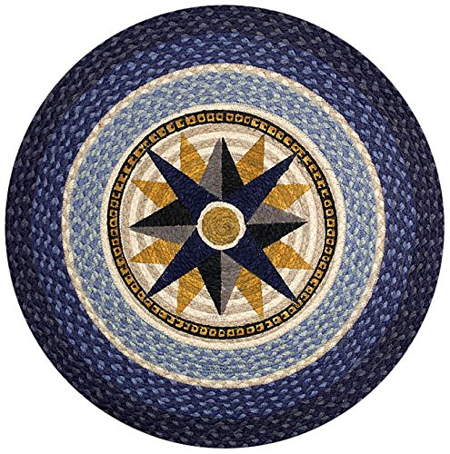 Earth Rugs 66-350C Round Rug, 27