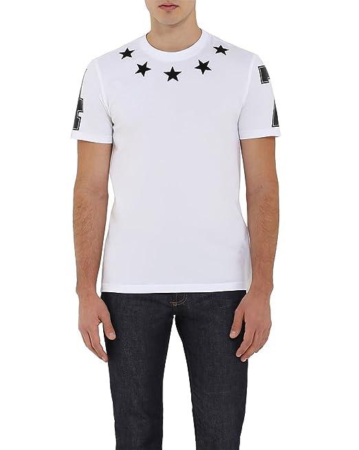 GIVENCHY - Camiseta de Algodón para Hombre - blanco, S
