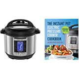 Instant Pot Ultra Electric Pressure Cooker (6 Quart) and Fast & Healthy Meals Cookbook