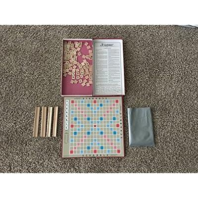 Milton Bradley Scrabble English Version: Toys & Games