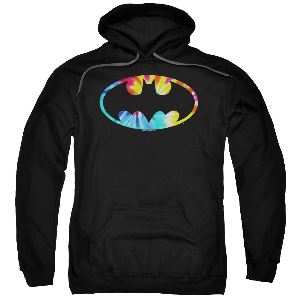 Batman - - Männer Tie Dye Logo Pullover Hoodie
